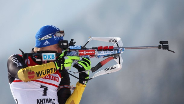 Biathlon Weltcup in Antholz