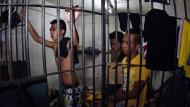 Gnadenloser Krieg: Immer mehr Dealer und Abhängige füllen die philippinischen Gefängnisse.