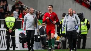 Sorge um Ronaldo nach Portugals Remis gegen Serbien