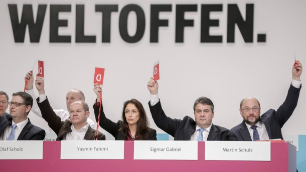 SPD stützt Gabriels Kurs bei TTIP