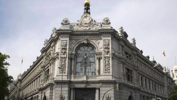 Spanische Notenbank schickt Kontrolleure in die Banken