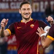 Die Freude des alten Mannes: Totti weiß der Roma manchmal noch zu helfen