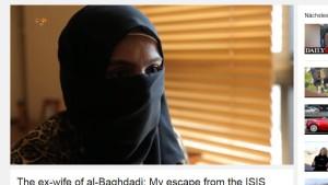 Ex-Frau von IS-Chef will in Freiheit leben