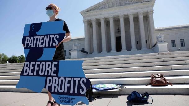 Oberster Gerichtshof kassiert Abtreibungsgesetz in Louisiana