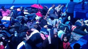 Flucht übers Mittelmeer