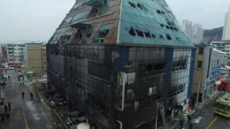 Verheerendes Feuer in Südkorea