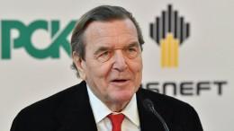 """Gerhard Schröder auf Liste der """"Staatsfeinde"""" der Ukraine"""