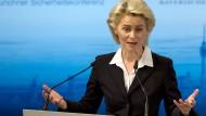 Von der Leyen: Bundeswehr könnte syrische Flüchtlinge für Zeit nach Krieg ausbilden