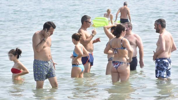 Salvini sieht sich in der Opferrolle