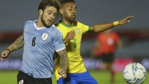 Brasilien bezwingt Uruguay, Gonzalez trifft für Argentinien