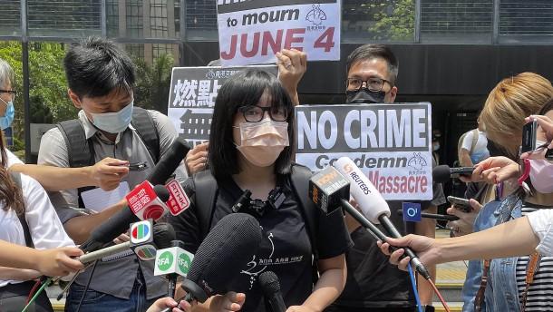 Familien der Opfer des Tiananmen-Massakers fordern Aufklärung