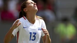 Amerikas Weltmeisterinnen scheitern an Schweden