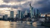 Frankfurts Skyline: da, wo das Geld liegt