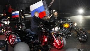 Nachtwölfe auf den Spuren der Roten Armee
