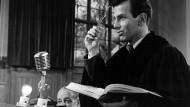 """Eines Oscars würdig: Maximilian Schell als Hans Rolfe im Film """"Judgement at Nuremberg""""."""