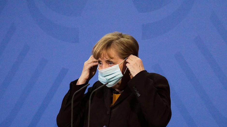 Mehr Einfluss auf die Corona-Politik? Bundeskanzlerin Angela Merkel