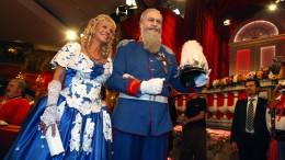 Markus Söder als bayerischer Prinz