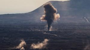 Kämpfe an israelischer Grenze