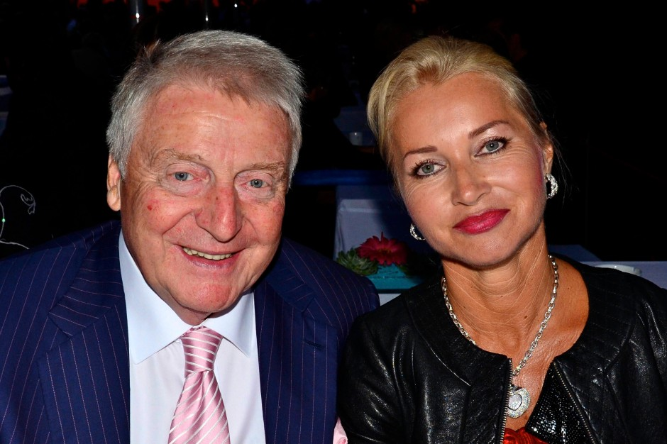 Egon Geerkens und seine Frau Edith