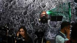 Indien verliert Kontakt zu Mond-Lander