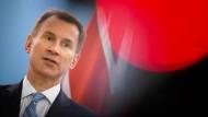 """""""Wir wollen unbedingt beste Freunde bleiben"""": der britische Außenminister Jeremy Hunt über den Austritt aus der EU"""