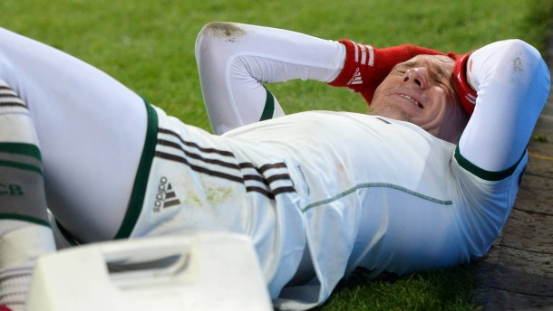 Robbens Verletzung trübt den Sieg