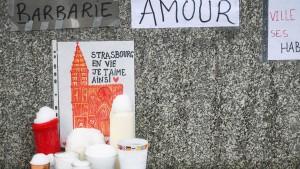 Untersuchungshaft für drei Verdächtige des Straßburg-Anschlags