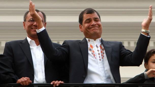 Rafael Correa, Jorge Glass