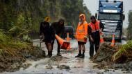 Zyklon Debbie erreicht Neuseeland