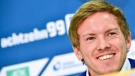 Einer, der es stürmisch mag: Julian Nagelsmann, jüngster Cheftainer in der Fußball-Bundesliga.