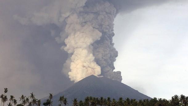 Vulkanausbruch auf Bali könnte unmittelbar bevorstehen