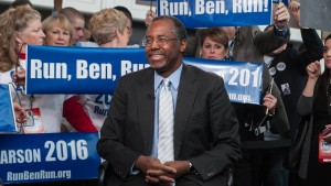 Tea-Party-Liebling Carson will Präsident werden