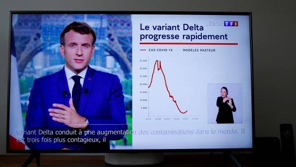 Franzosen buchen fast eine Million Impftermine nach Macron-Rede