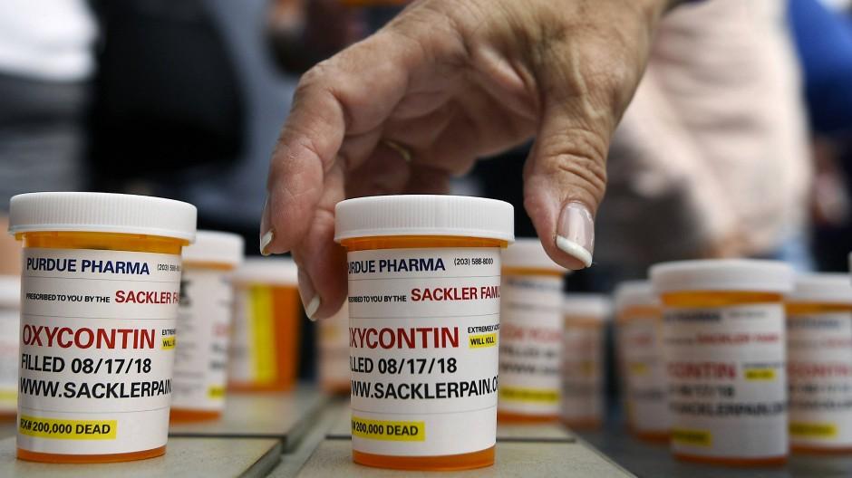 Medikamente des Schmerzmittelherstellers Purdue