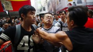 China fordert Ende der rechtswidrigen Proteste