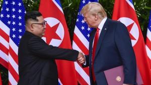 Kim will zweites Treffen mit Trump