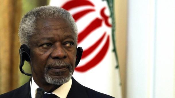 Annan vermittelt in Iran und Irak