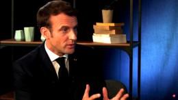 Macron reagiert im Livestream
