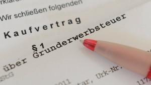 CDU-Landtagsfraktion: Grunderwerbsteuer erhöhen