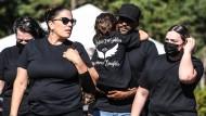 """Trauerfeier für getötete Gabby Petito: """"Ich könnte als Vater nicht stolzer sein"""""""