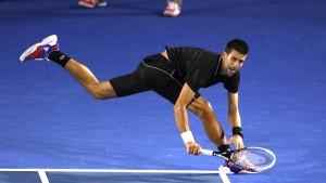 Djokovic im Viertelfinale
