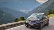 Der BMW i3 ist nicht für alle Lebenslagen geeignet, findet BDI-Präsident Dieter Kempf.