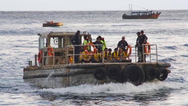 Lebenslanges Einreiseverbot für Bootsflüchtlinge