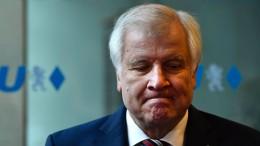 Seehofer ist tief enttäuscht von Wahlergebnis