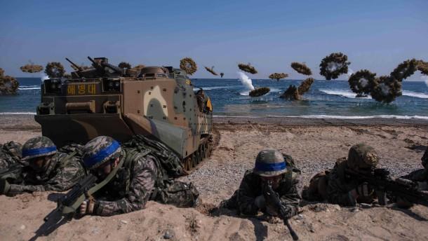 Amerika und Südkorea stoppen gemeinsame Großmanöver