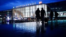 Kölner Hauptbahnhof zwischenzeitlich teilweise gesperrt