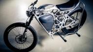 Druckreif: Light Rider mit Elektromotor und Spezialrahmen.