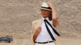 Melania Trump erntet Kritik für ihre Garderobe