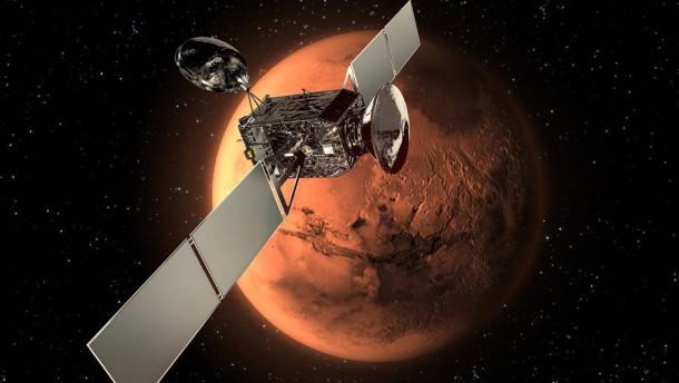 Der Mars - bald ein vereinsamter Planet?
