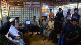 Rohingya hoffen auf Gerechtigkeit